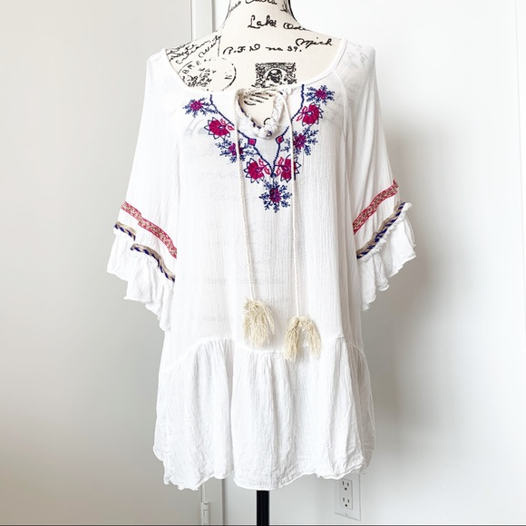 India Boutique Other - Boho Blouse/Tunic/Cover Up